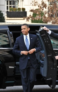 First Family on their way to Church3