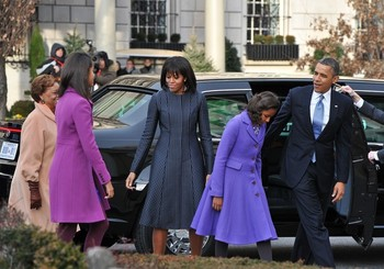 First Family on their way to Church6
