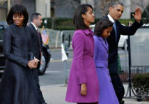 First family on their way to Church8