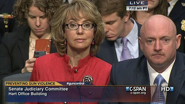 Giffords says 'speaking is difficult, but I need to say something important'
