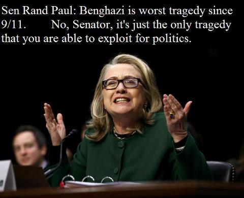 Hillary - Rand Paul