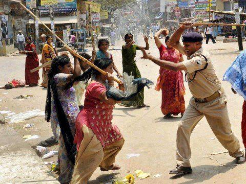 India women are angry