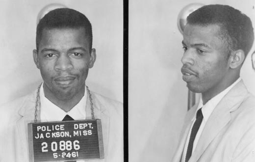 John Lewis- jail for freedom