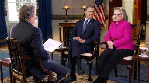Barack Obama, Hillary Rodham Clinton, Stee Kroft
