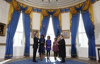 Potus takes the oath of office 15