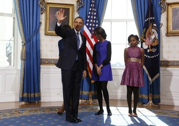 Potus takes the oath of office 18