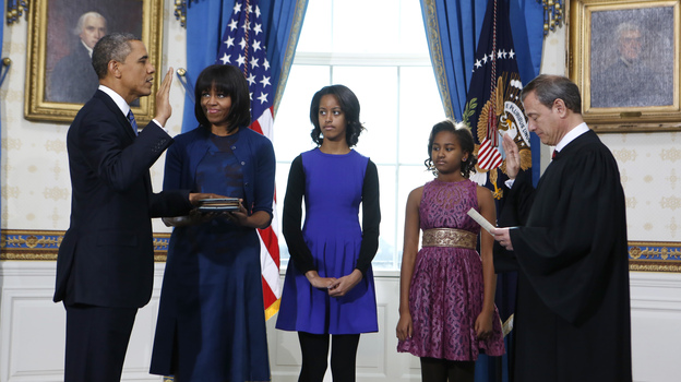Potus takes the oath of office 23