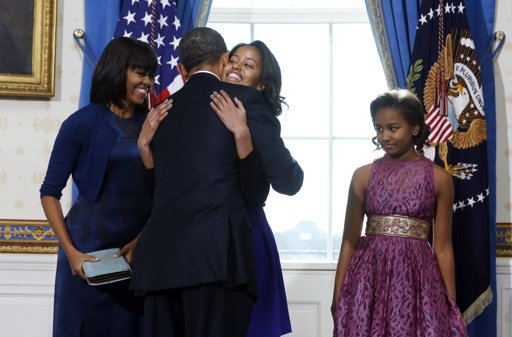 Potus takes the oath of office 24