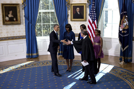 Potus takes the oath of office 26