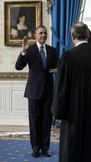 Potus takes the oath of office 30