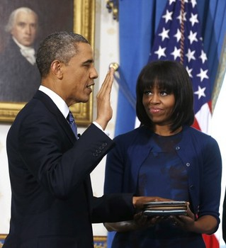 Potus takes the oath of office 5