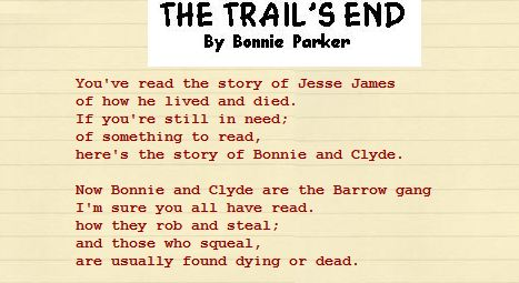 The Trail's end