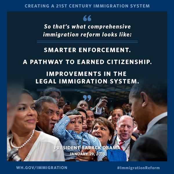 The White House- This is what comprehensive Immigration Reform looks like