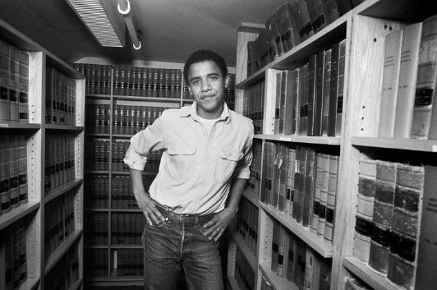 Barack Obama attended Harvard Law School in 1988 and was selected as an editor of the Harvard Law Review at the end of his first year.
