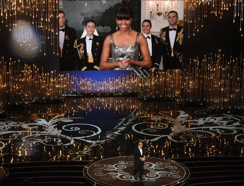 Flotus at the Academy awards