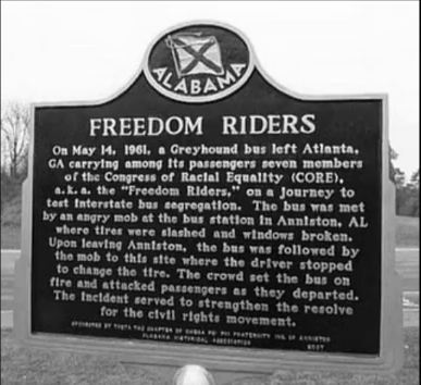 Freedom Riders- Historical Marker