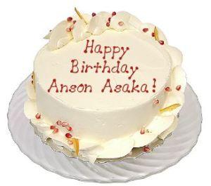 Happy birthday Anson Asaka