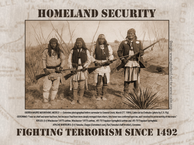 Homeland Security- Fighting Terrorism since 1492