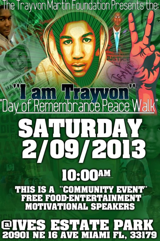 I am Trayvon- Day of Remembrance Peace Walk