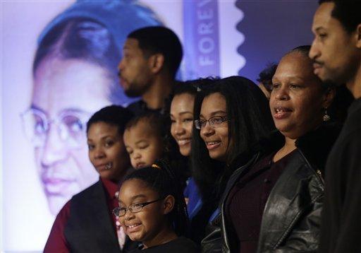 APTOPIX Rosa Parks Birthday