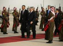 Potus arrives in Jordan1