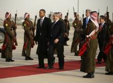 Potus arrives in Jordan1