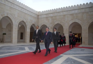 Potus arrives in Jordan6