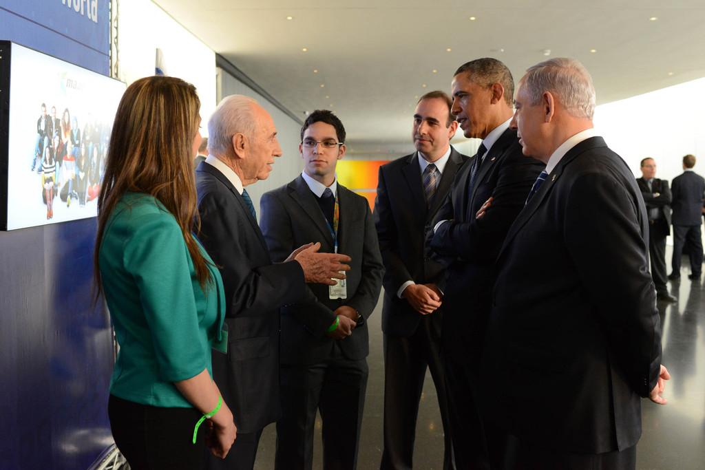 Shirmon Peres-Barack+Obama+President+Obama+Official+Visit+mcBVE1Tk1bLx