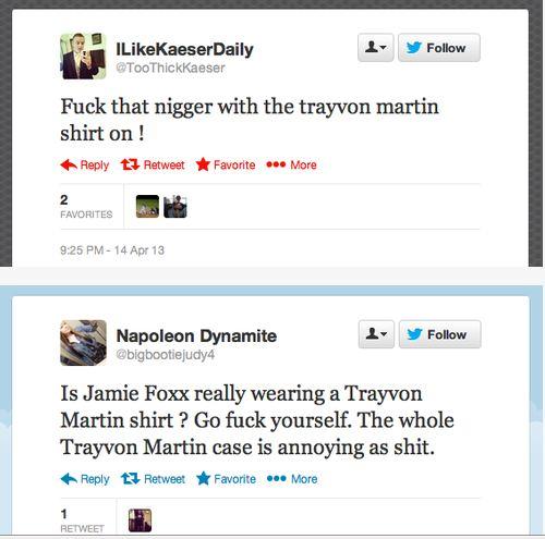 Jamie Foxx TM racist tweets1