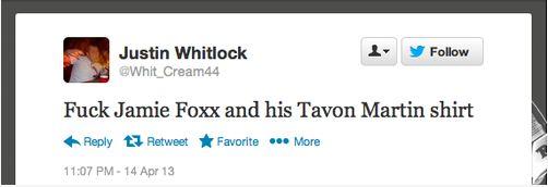 Jamie Foxx TM racist tweets4