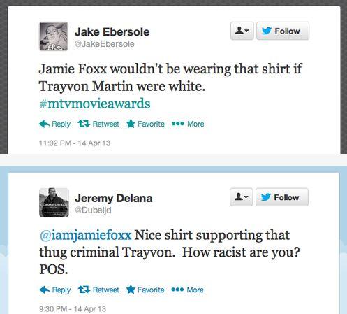 Jamie Foxx TM racist tweets6