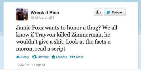 Jamie Foxx TM racist tweets7