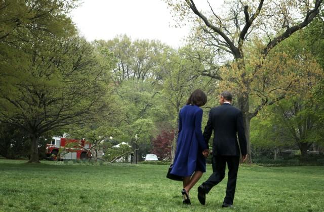 Michelle+Obama+President+Obama+Departs+White+2m3zaYHZ9q8x