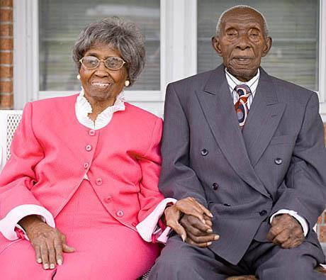 Oldest living married couple