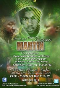 Peace rally for Trayvon Martin