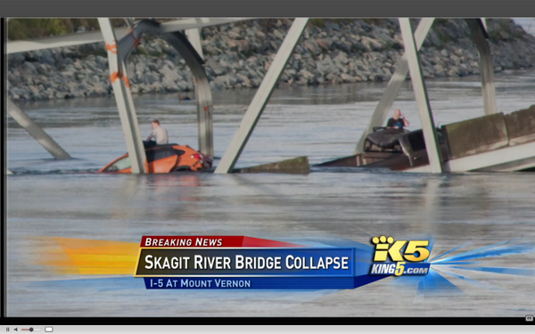 Skagit I-5 bridge collapses