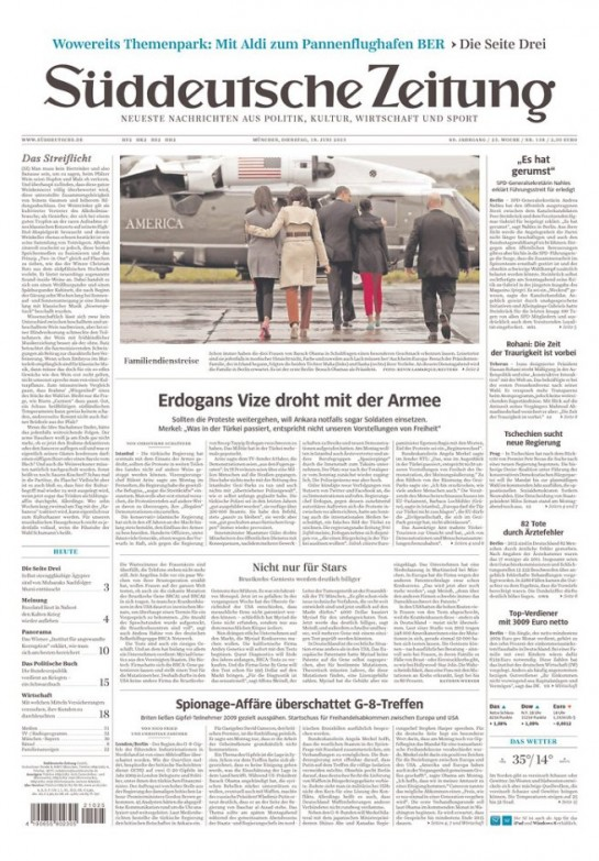 german paper on ireland trip