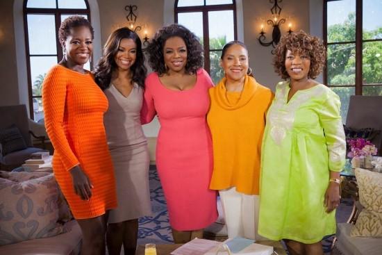 Oprah Winfrey's Master Class with Black women of Hollywood: Viola Davis, Gabrielle Union, Phylicia Rashad, Alfre Woodard