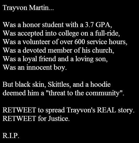 who trayvon was