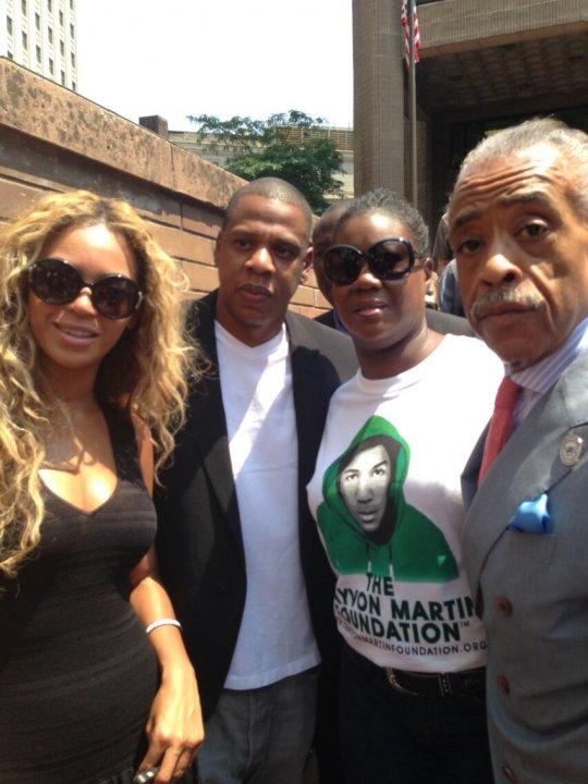 Beyonce, Jay-Z & Thousands Gather For Justice For Trayvon 100 City Vigil