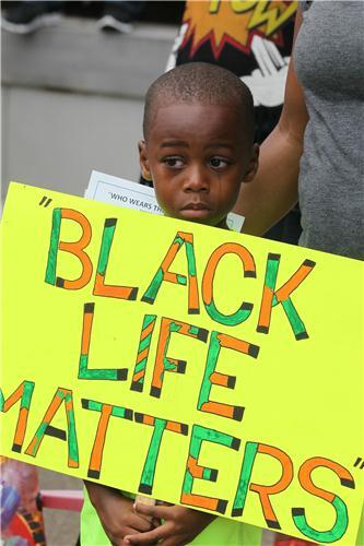 Black Life Matters - Atlanta- Justice for Trayvon rally