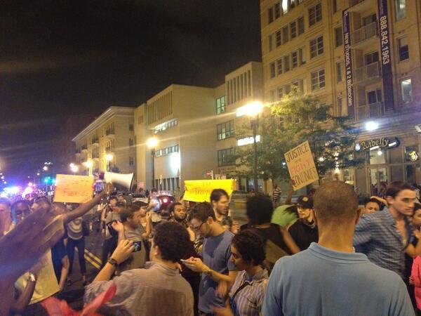 DC Rally for Trayvon Martin