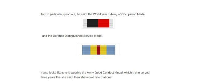 Doris Singleton medals