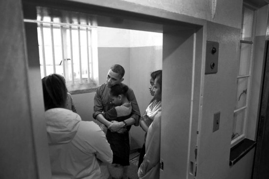 first family  in mandelas cell