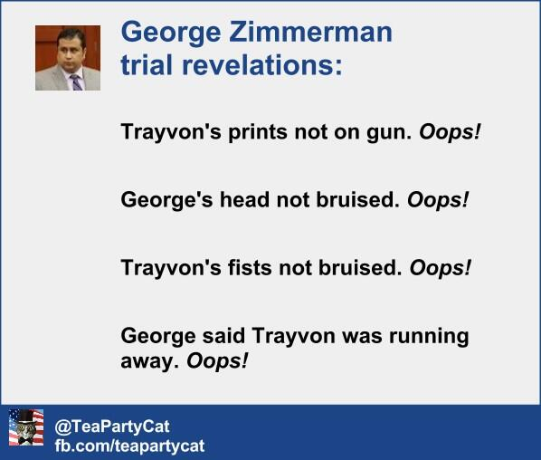 George Zimmerman revelations