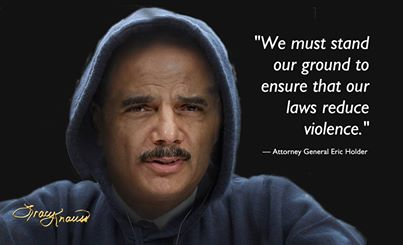 HOLDER CONDEMNS STAND YOUR GROUND
