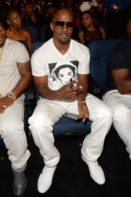 jamie foxx trayvon