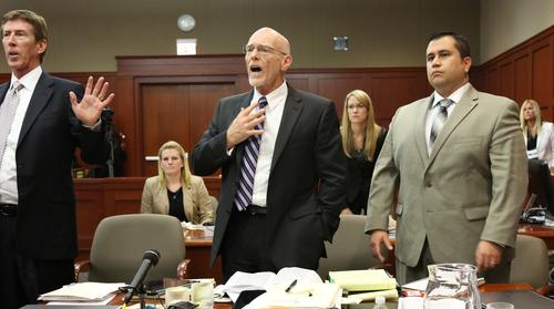 Judge Nelson leaves courtroom
