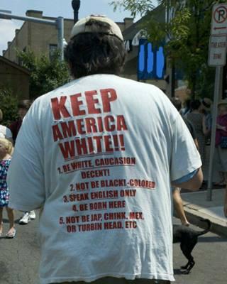 Keep America white