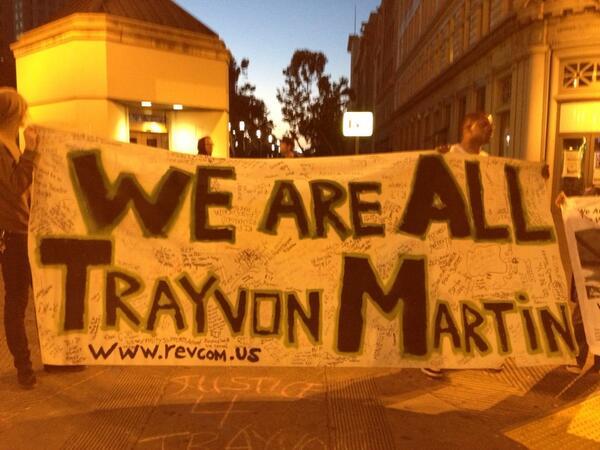 Oakland Protestors for Trayvon Martin